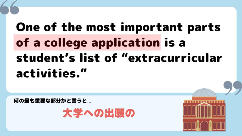 大学への出願の